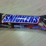 tiba2 sedap lak Snickers ni