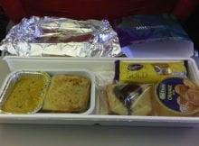 Menu Makanan Dalam Flight MAS KL ke Phuket Thailand