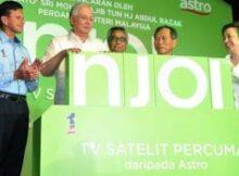 Njoi TV Satelit Percuma Astro