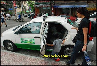 Teksi Vinasun Di Ho Chi Minh Vietnam