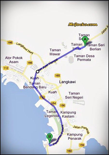 Peta ke Idaman Suri, Langkawi