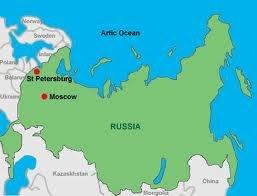 Peta Negara Russia