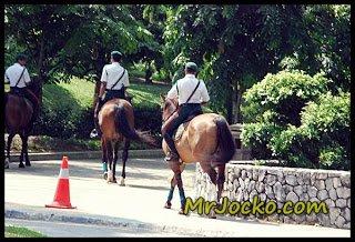 Pasukan Berkuda DBKL Tasik Perdana Kuala Lumpur