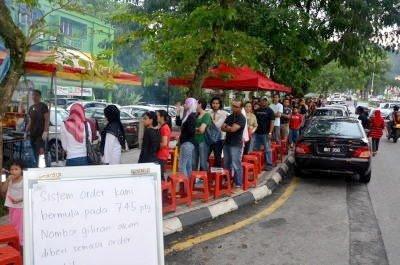 Harga Burger Bakar Cecah RM150 Sebiji