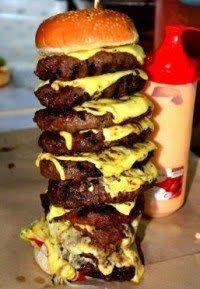 Burger Bakar Cecah RM150 Sebiji
