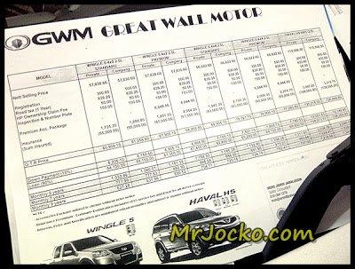 Pickup GWM - Wingle 5 Murah Dan Berbaloi