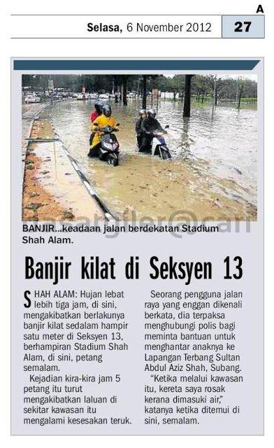 banjir-shah-alam