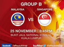 Gambar Perlawanan Malaysia Vs Singapura AFF Suzuki Cup 2012