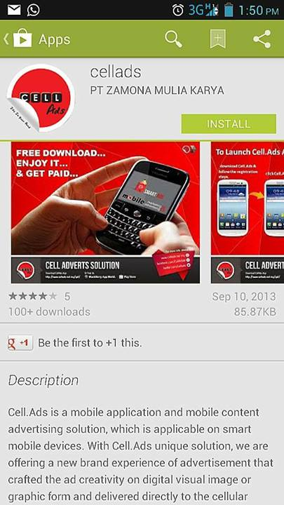 cell-ads-application