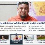 Afdlin Shauki Muflis, Aaron Aziz Kemalangan? Gosip Yahoo Malaysia