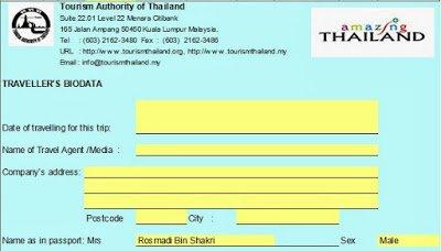 Jemputan Media Trip Ke Satun dan Hatyai Thailand