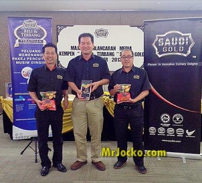 Peraduan Beli Dan Terbang Produk Saudi Gold Cold Storage Malaysia