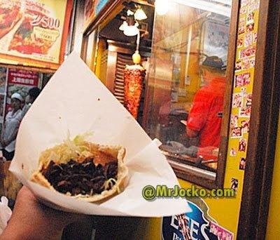 Gerai Kebab Halal Doner Kebab Di Ameyokocho