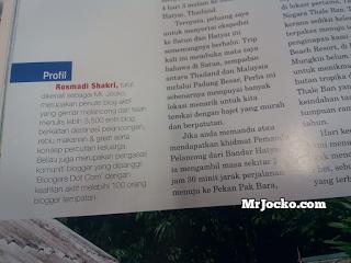 Artikel MrJocko Di Majalah Libur Edisi Keluaran Februari 2014