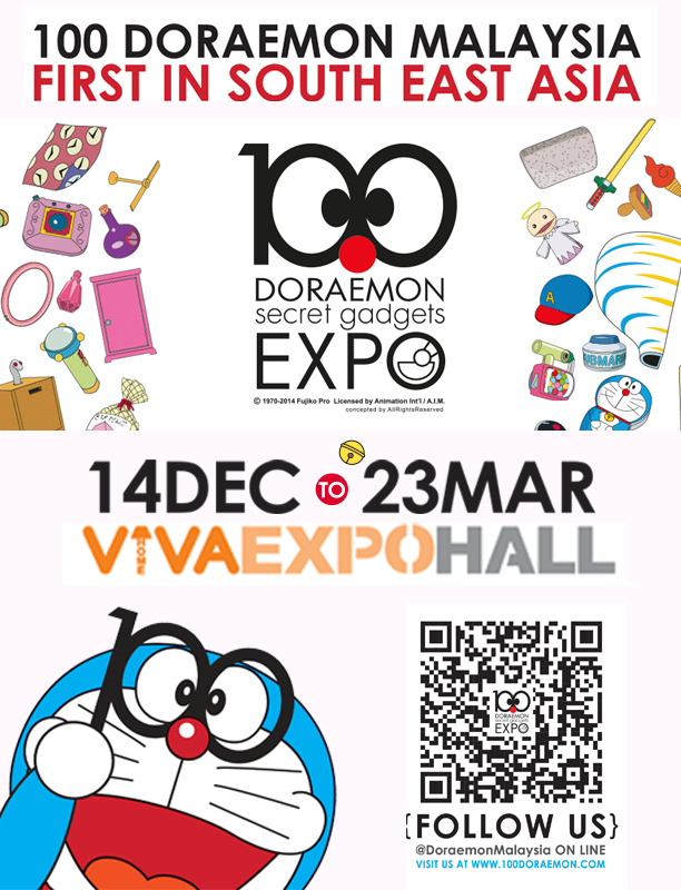 Free Tickets for 100 Doraemon Malaysia