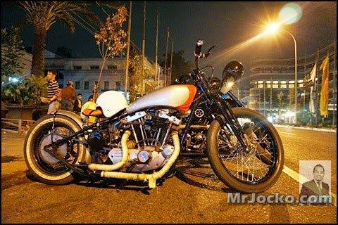 Geng Custom Bikers Bandung Geng Motosikal