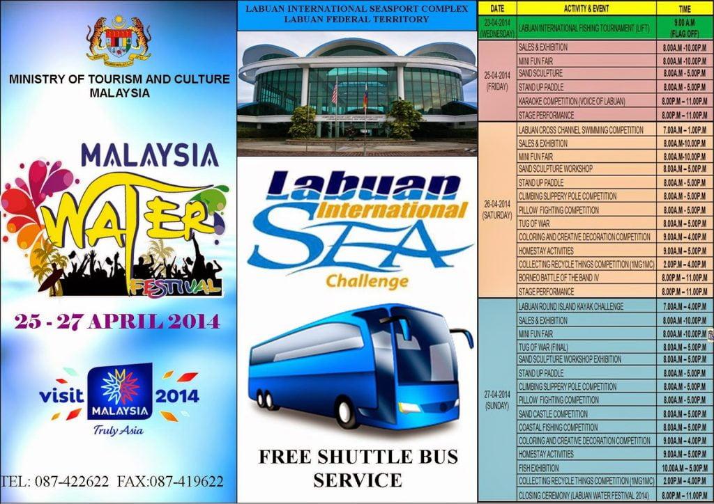 Malaysia Water Festival Labuan 2014