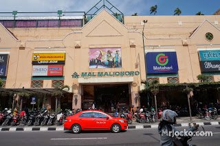 Pasar Malioboro di Jogjakarta