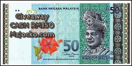 Mini GiveAway Cash RM150 MrJocko