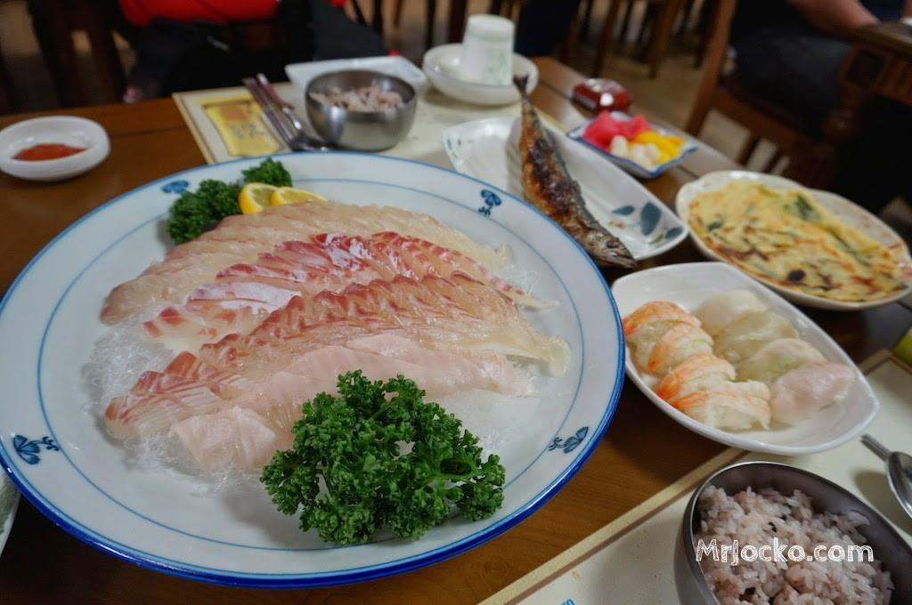 Menu Halal Korea : Sashimi Ala Korea Memang Sedap