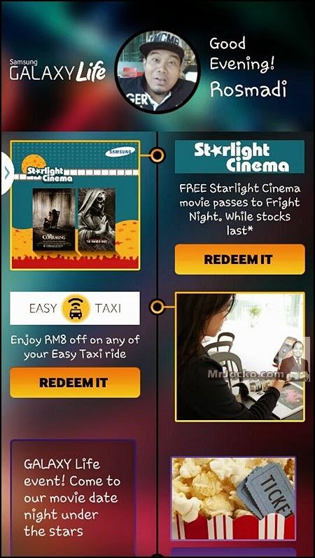 Starlight Cinema Samsung Galaxy Life
