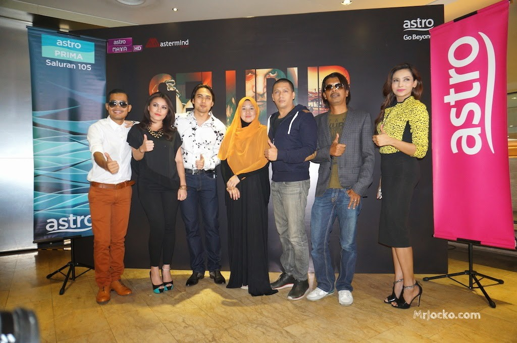 press conference seludup oleh Mastermind Group dan Astro