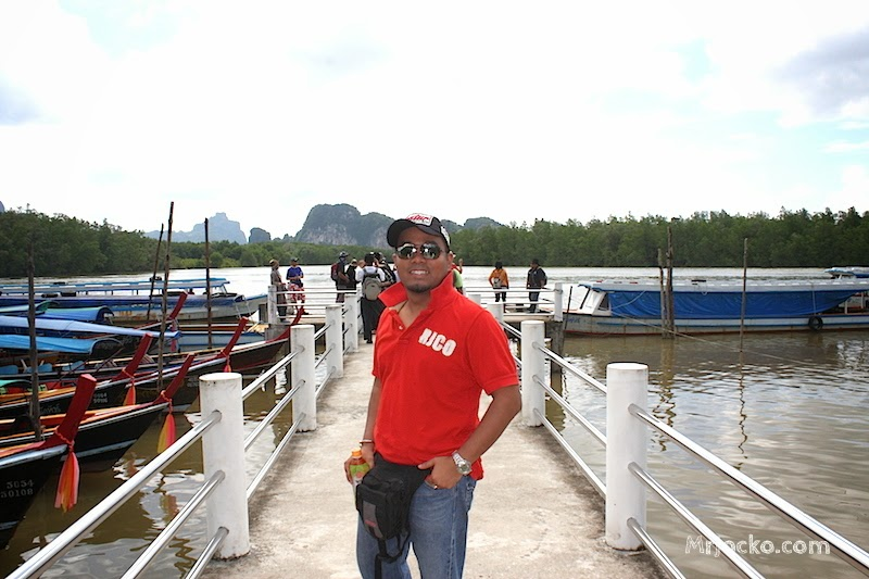Pengalaman Menaiki Bot Ke James Bond Island Phuket
