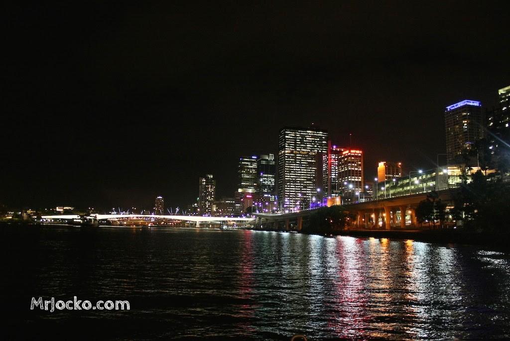 Pemandangan Indah Kota Brisbane