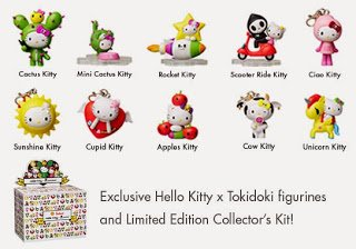 Shell Tokidoki Hello Kitty