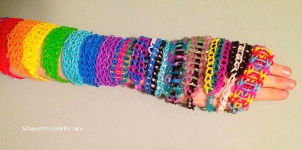 Design Getah Warna Warni Loom Band Yang Cantik