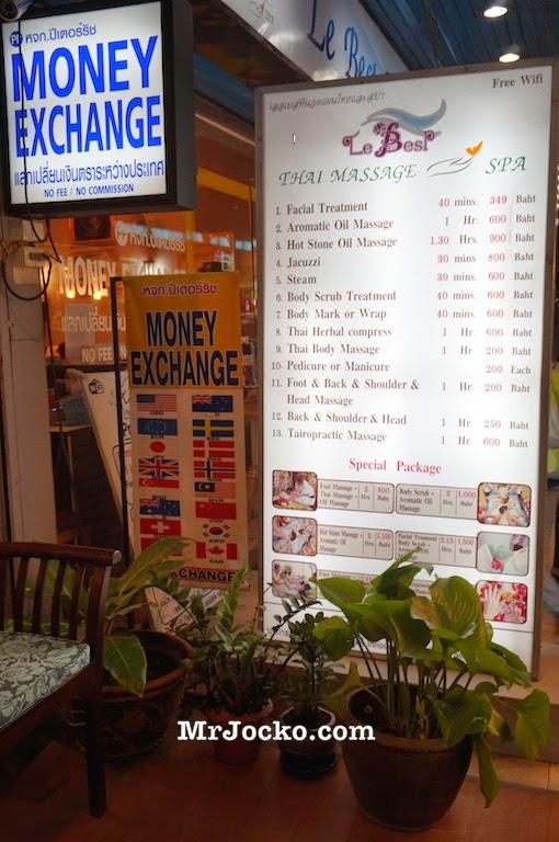 Thai Massage Urut Kaki Di Chiang Mai Cuma RM20 Sejam