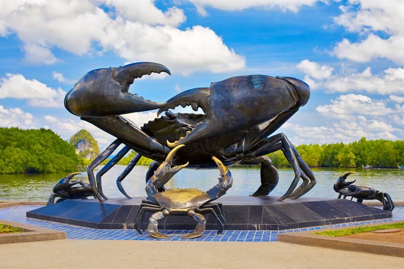 Krabi Crab Statue