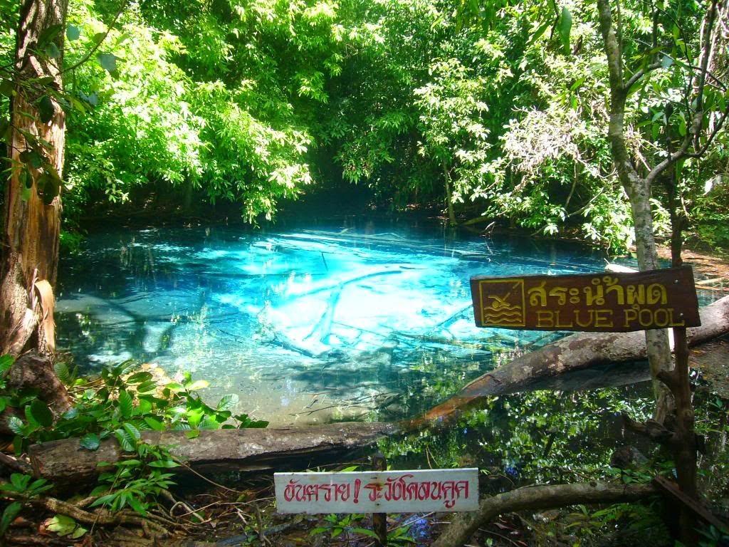 Blue Pool Krabi