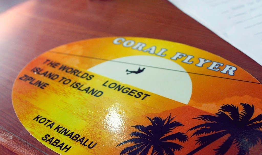 Zipline coral flyer sabah