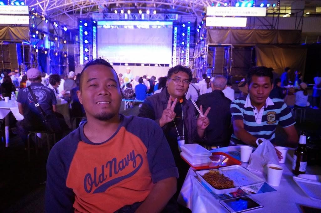 Datuk Bandar Ipoh Rasmi Asian Pacific Festival Fukuoka 2014