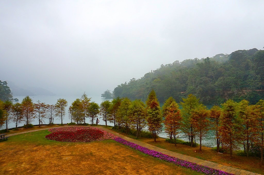 Sun Moon Lake Nantou Taiwan : Tasik Dengan Pemandangan