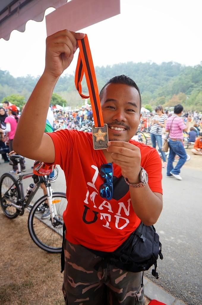 Medal untuk Taiwan Cycling Festival 2014 Di Sun Moon Lake