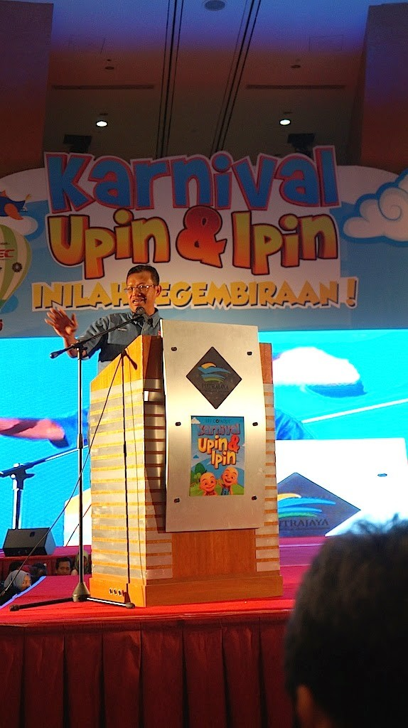 Perasmian Karnival Upin Ipin 2014 PICC Putrajaya