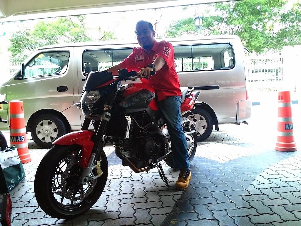 Motosikal Aprilia Shiver 750cc Motosikal Telanjang Seksi