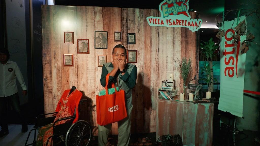 Oh My English : Villa Isabellaaa! Telemovie Seram