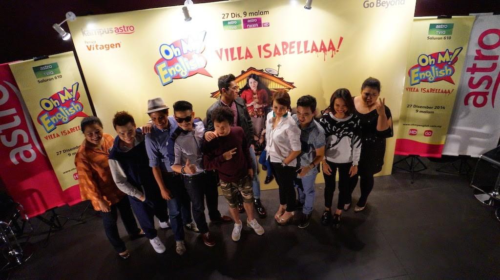 pelakon_Oh My English : Villa Isabellaaa!