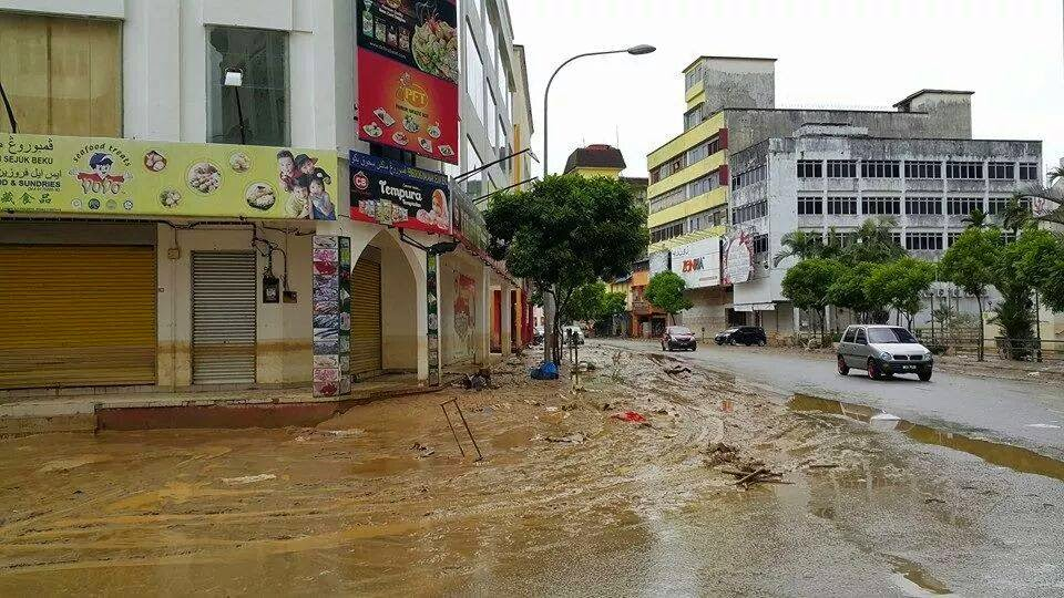 kesan_selepas_banjir_di_Kelantan_2014