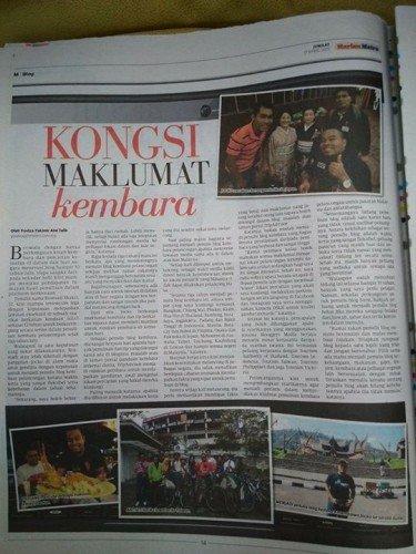 harian metro 17 April 2015