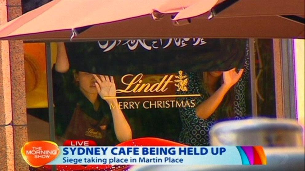 Drama Tebusan Di Sebuah Cafe Sydney : Pening La