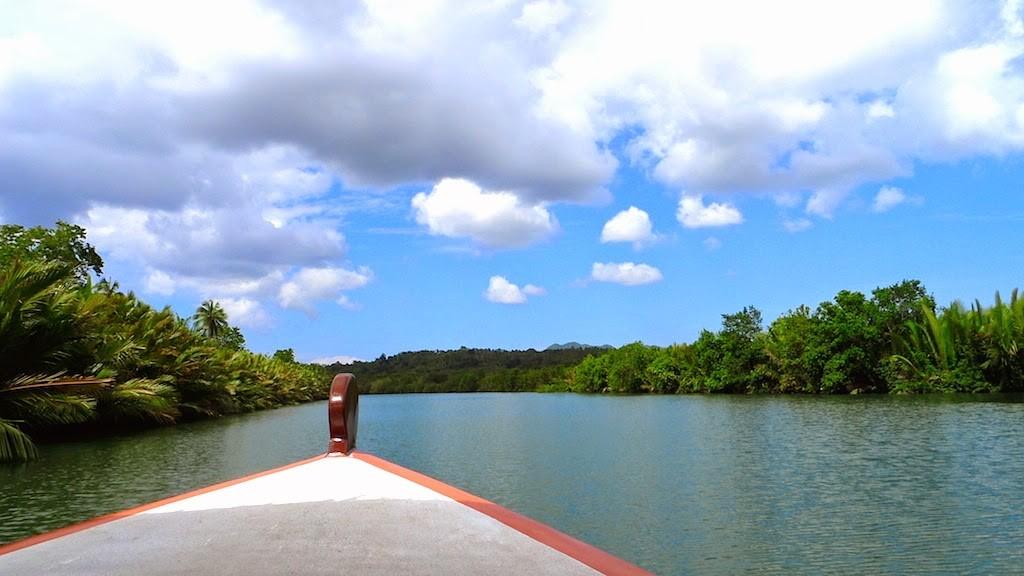 Abatan River Maribojoc Lokasi Aktiviti Pelancongan Di Bohol