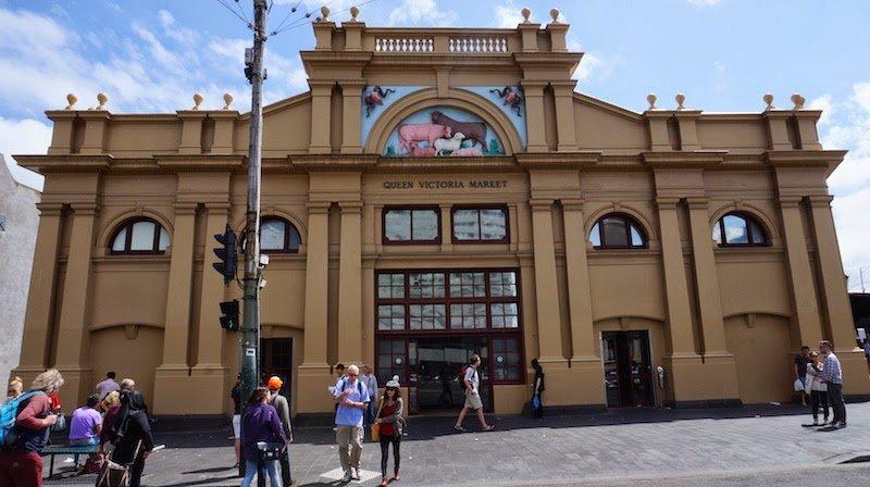 Queen Victoria Market Melbourne Paling Terkenal