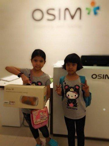 OSIM uCozy 3D Mesin Urutan Mudah Alih
