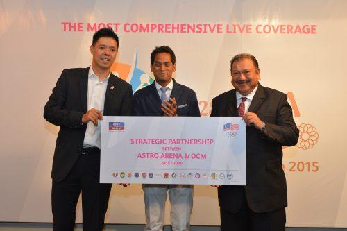 Strategic partnership between Astro Arena and OCM 01