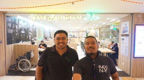 Yana Restaurant Halal Di MBK Center Bangkok Thailand