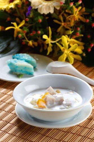 Resipi Ramadhan : Bubur Cha Cha Ayam Brand